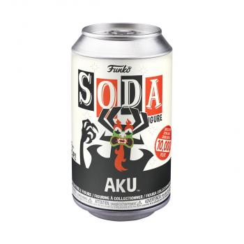 Samurai Jack Vinyl Soda Figure - Aku (Limited Edition: 10,000 PCS)