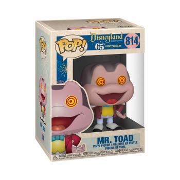 Disneyland 65th Anniversary POP! Vinyl Figure - Mr.Toad w/ Spinning Eyes