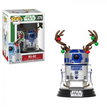 Star Wars Holiday POP! Vinyl Figure - R2-D2 Reindeer