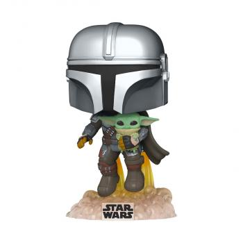 Star Wars: Mandalorian POP! Vinyl Figure - Mandalorian With The Child (Jetpack) [STANDARD]