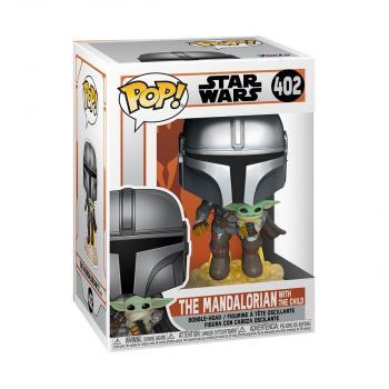 Star Wars: Mandalorian POP! Vinyl Figure - Mandalorian With The Child (Jetpack) [STANDARD]