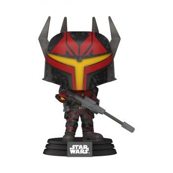 Star Wars: Clone Wars Animation POP! Vinyl Figure - Gar Saxon  [STANDARD]