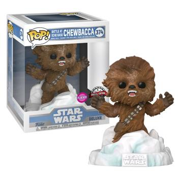 Star Wars POP! Deluxe Vinyl Figure - Chewbacca (Flocked) (Special Edition)
