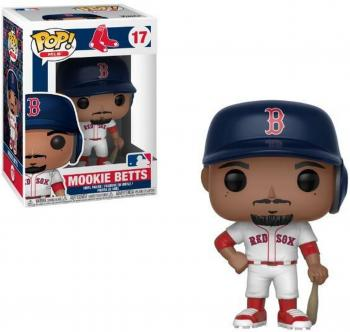 MLB Stars POP! Vinyl Figure - Mookie Betts (Road) (Boston Red Sox)