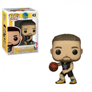 NBA Stars POP! Vinyl Figure - Stephen Curry (Warriors)