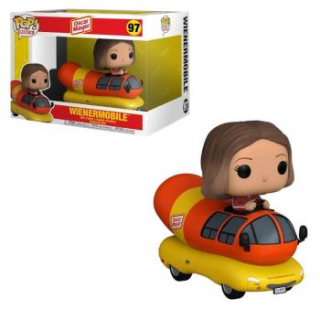 Ad Icons Oscar Mayer POP! Ride Vinyl Figure - Wienermobile