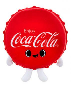 Ad Icons Coca-Cola Plush - Cola Bottle Cap