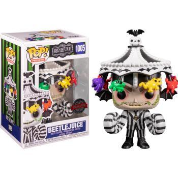 Beetlejuice POP! Vinyl Figure - Beetlejuice w/ Carousel Hat (Special Edition) [STANDARD]