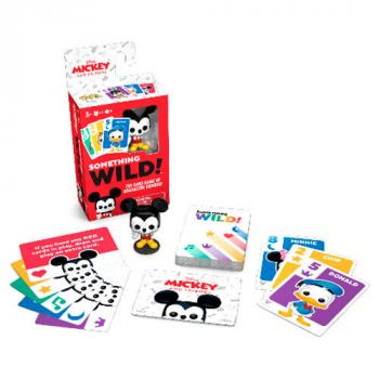 Something Wild Card Game Signature Games - Mickey & Friends (English/French)