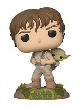 Star Wars POP! Vinyl Figure - Luke (Training) w/ Yoda