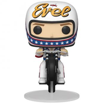 Pop Icons POP! Ride Vinyl Figure - Evel Knievel on Motorcycle