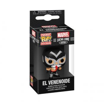 Venom Pocket POP! Key Chain - El Venenoide (Venom) (Marvel Lucha Libre Edition)