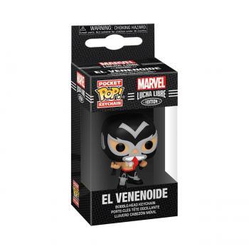 Venom Pocket POP! Key Chain - El Venenoide (Venom) (Marvel Lucha Libre Edition)