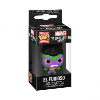 Hulk Pocket POP! Key Chain - El Furioso (Hulk) (Marvel Lucha Libre Edition)