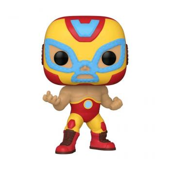Iron Man POP! Vinyl Figure - El Heroe Invicto (Iron Man) (Marvel Lucha Libre Edition)