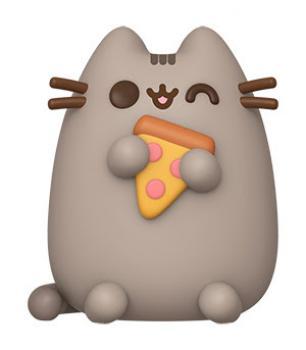 Pusheen the Cat POP! Vinyl Figure - Pusheen w/ Pizza
