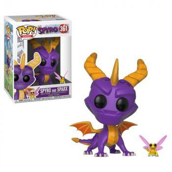 Spyro POP! Vinyl Figure - Spyro & Sparx