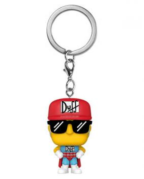 Simpsons Pocket POP! Key Chain - Duffman