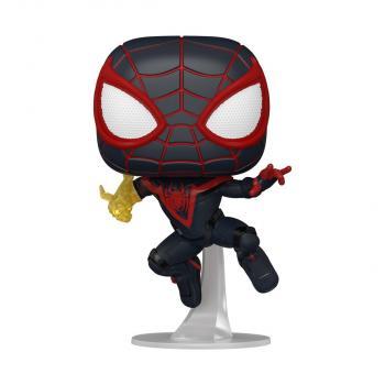 Spider-man Miles Morales PS POP! Vinyl Figure - Miles Morales (Classic Suit) [RANDOM]