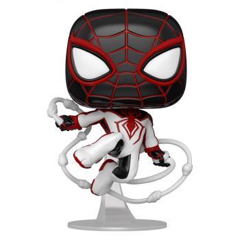 Spider-man Miles Morales PS POP! Vinyl Figure - Miles Morales (T.R.A.C.K Suit)