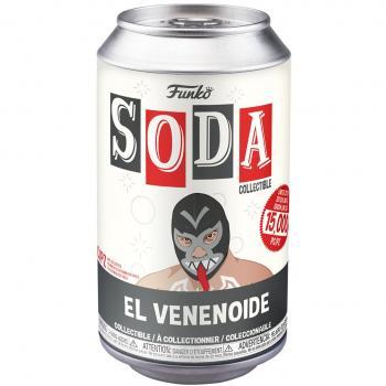 Luchadores Vinyl Soda Figure - El Venenoide (Venom) (Limited Edition: 15,000 PCS)