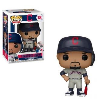 MLB Stars POP! Vinyl Figure - Francisco Lindor (Road) (Cleveland Indians)