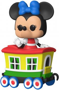 Disneyland 65th Anniversary POP! Vinyl Figure - Casey Jr. Car with Minnie Mouse (Special Edition)