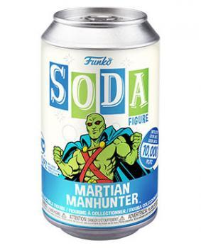 Martian Manhunter Vinyl Soda Figure - Martian Manhunter (Limited Edition: 10,000 PCS)