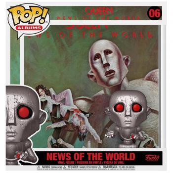 Queen POP! Albums Vinyl Figure - News of the World