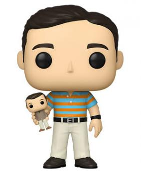 40 Y.O. Virgin POP! Vinyl Figure - Andy w/ Oscar [RANDOM] [STANDARD]