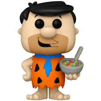 Flintstones Ad Icons POP! Vinyl Figure - Fred w/ Fruity Pebbles Cereal  [COLLECTOR]