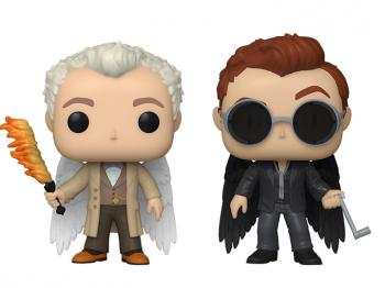 Good Omens POP! Vinyl Figure - Aziraphale  & Crowley with Wings (2-Pack) (Specialty Series)