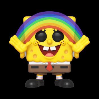 Spongebob Squarepants POP! Vinyl Figure - Spongebob w/ Rainbow