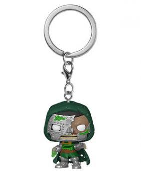 Fantastic Four Pocket POP! Key Chain - Zombies Doctor Doom (Marvel)