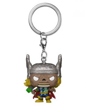 Thor Pocket POP! Key Chain - Zombies Thor (Marvel)