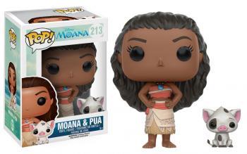 Moana POP! Vinyl Figure - Moana & Pua (Disney)