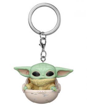 Star Wars: Mandalorian Pocket POP! Key Chain - The Child in Pod