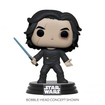 Star Wars: Rise of Skywalker POP! Vinyl Figure - Ben Solo w/ Blue Saber  [STANDARD]