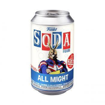 My Hero Academia Vinyl Soda Figure - All Might (Limited Edition: 20,000 PCS)