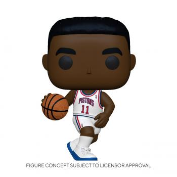 NBA Stars POP! Vinyl Figure - Isiah Thomas (Detroit Pistons) (Home)