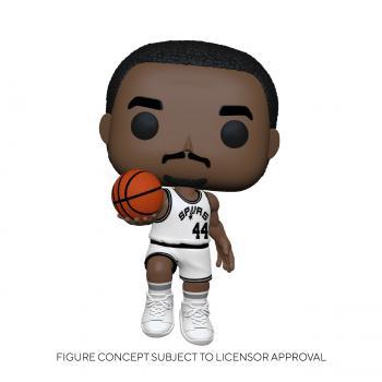 NBA Stars POP! Vinyl Figure - George Gervin (Home) (San Antonio Spurs)