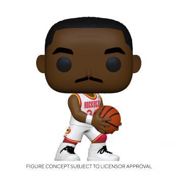 NBA Stars POP! Vinyl Figure - Hakeem Olajuwon (Home) (Houston Rockets)