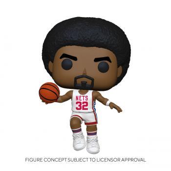 NBA Stars POP! Vinyl Figure - Julius Erving (Home) (Brooklyn Nets)