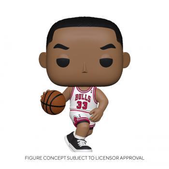 NBA Stars POP! Vinyl Figure - Scottie Pippen (Home) (Chicago Bulls)