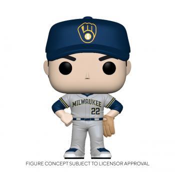 MLB Stars POP! Vinyl Figure - Christian Yelich (Road) (Milwaukee Brewers)