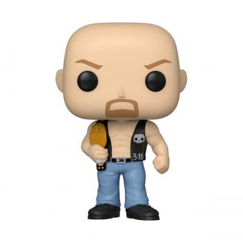 WWE POP! Vinyl Figure - Stone Cold Steve Austin w/ Belt