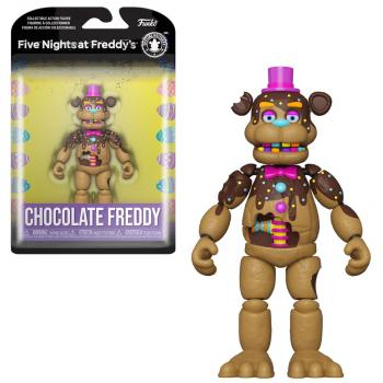 Five Nights At Freddy's Action Figure - Chocolate Fred