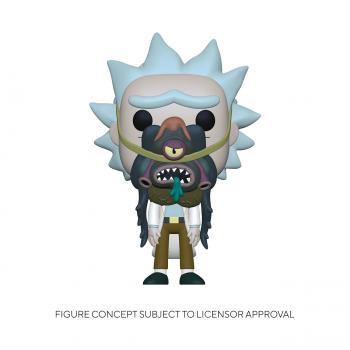 Rick & Morty POP! Vinyl Figure - Rick w/ Glorzo