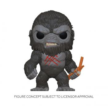 Godzilla Vs Kong POP! Vinyl Figure - Kong (Scarred)