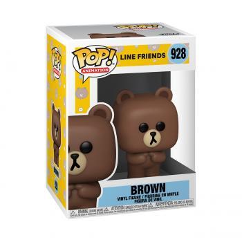 Line Friends POP! Vinyl Figure -  Brown
